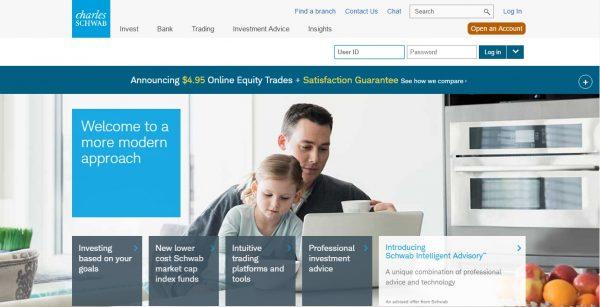 Online brokerage firm definition