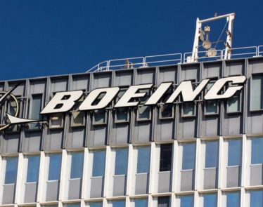 Boeing saw shares rise
