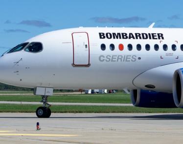 Bombardier's C Series Jet