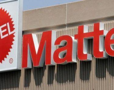 Mattel shares drop 15%