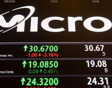 Micron Tech Stock Up
