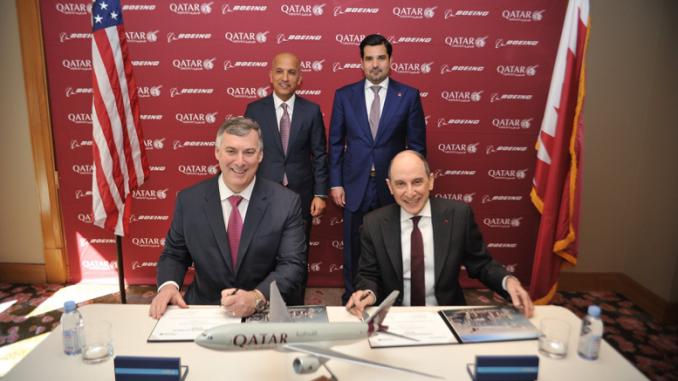 Qatar Airways Purchase five Planes