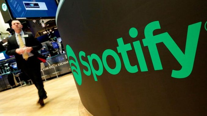 Spotify Shares Dive