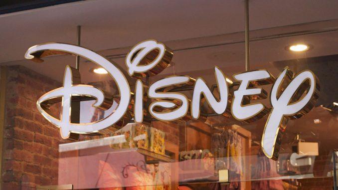 Disney Shares Drop