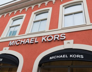 michael kors Shares fall