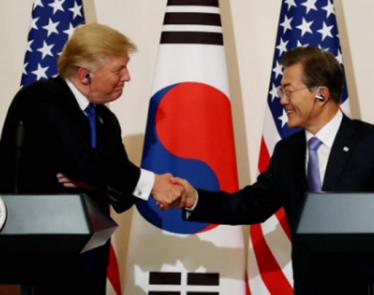 Trump and Kim Jong Un Meeting