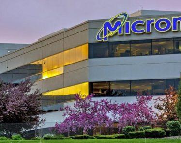 Micron shares
