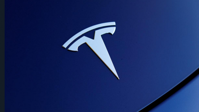 Tesla shares on the rise