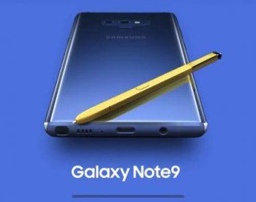 Samsung Galaxy Note 9 details