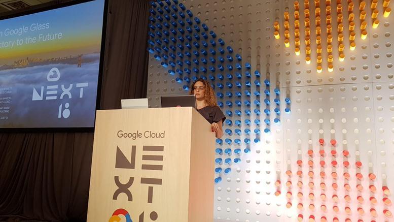 AI Google Glass