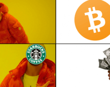 Starbucks not accepting cryptocurrency