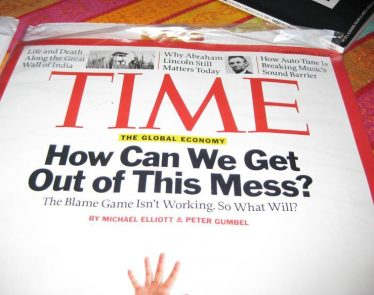 Time Magazine Sold