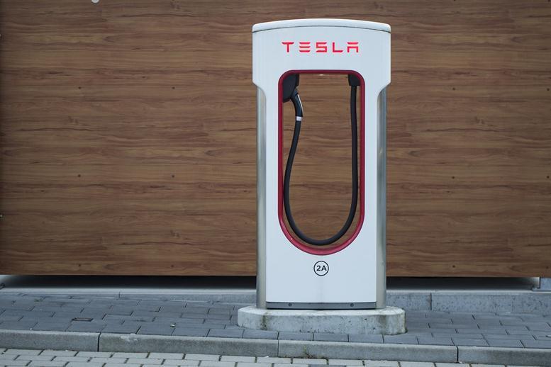 Tesla stock dropped