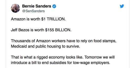 Amazon minimum wage