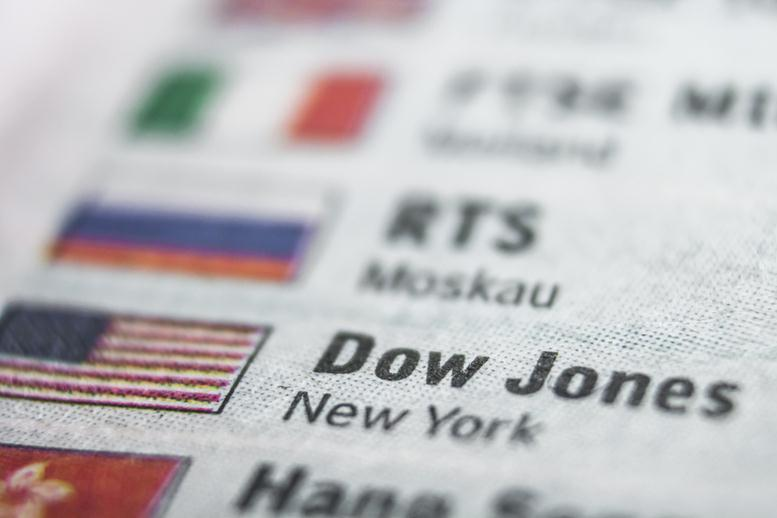 Dow Jones Today | The Dow Ends a Rough Week in the Green