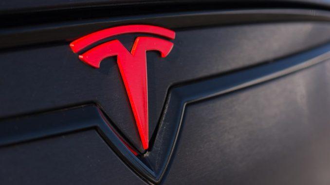 Tesla stock price today