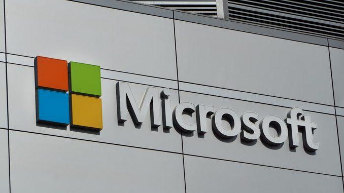 Microsoft stock price today