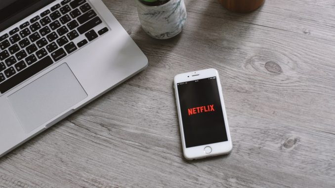 Netflix stock price today