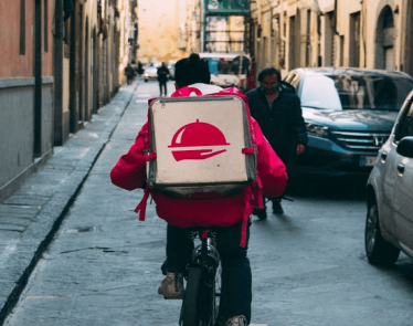 food delivery stocks